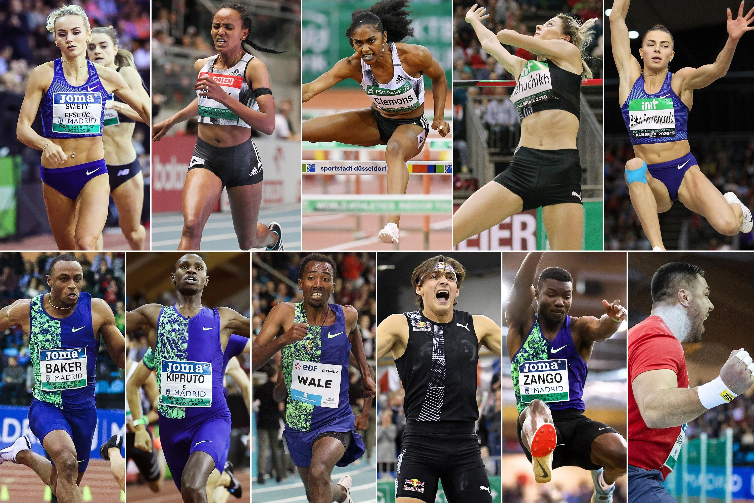 After the seventh and final meeting of the 2020 World Athletics Indoor Tour brought the series to a close for another year, 11 athletes have booked their place at the World Athletics Indoor Championships Nanjing 2021.