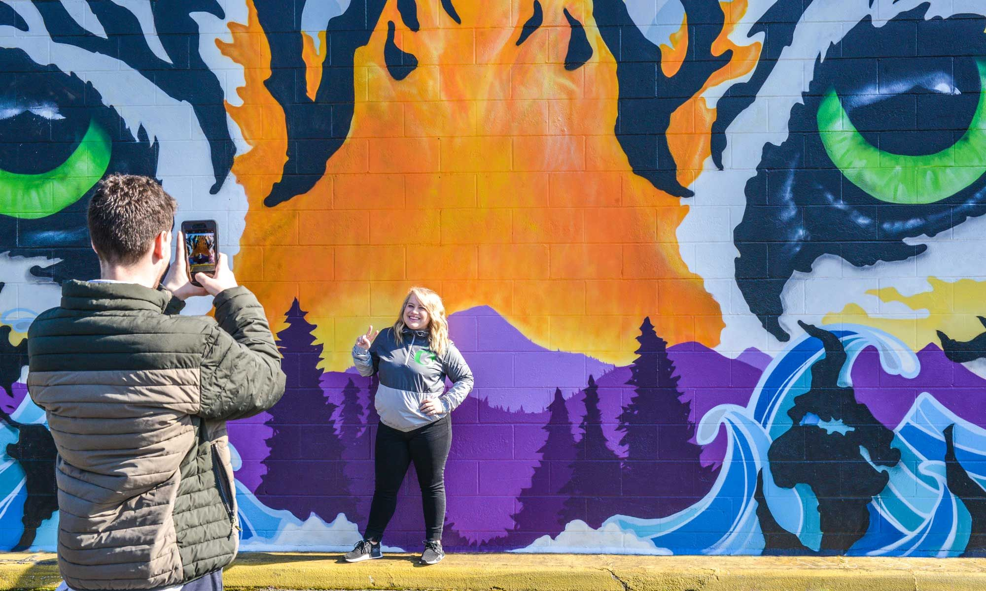Bayne Gardner Mural  - Oak Alley