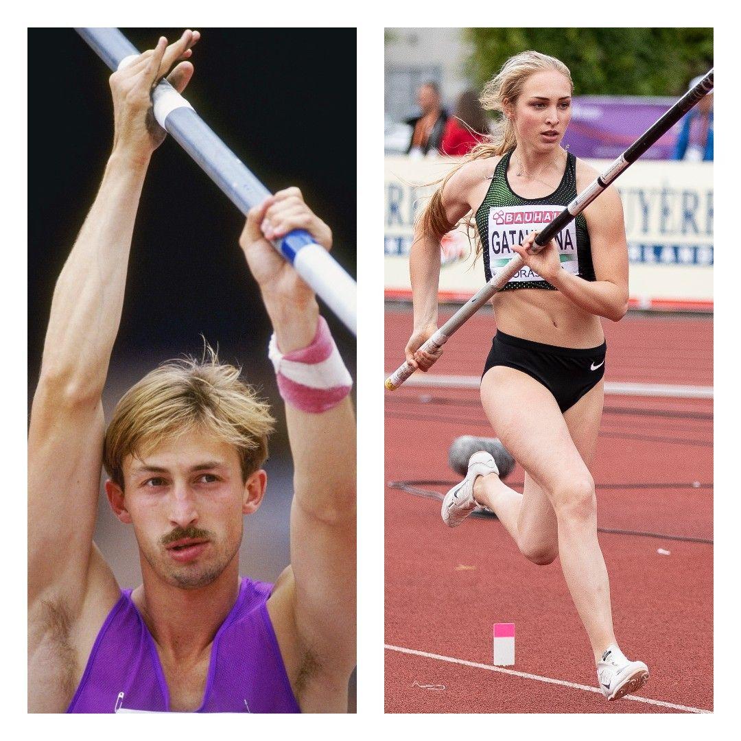 Rodion Gataullin and Aksana Gataullina