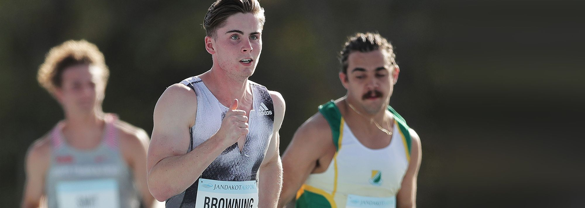Rohan Browning sped to a wind-assisted 9.96 clocking over 100m at the Illawarra Track Challenge in Wollongong on Saturday (16), making him the second-fastest Australian over the distance in any conditions.