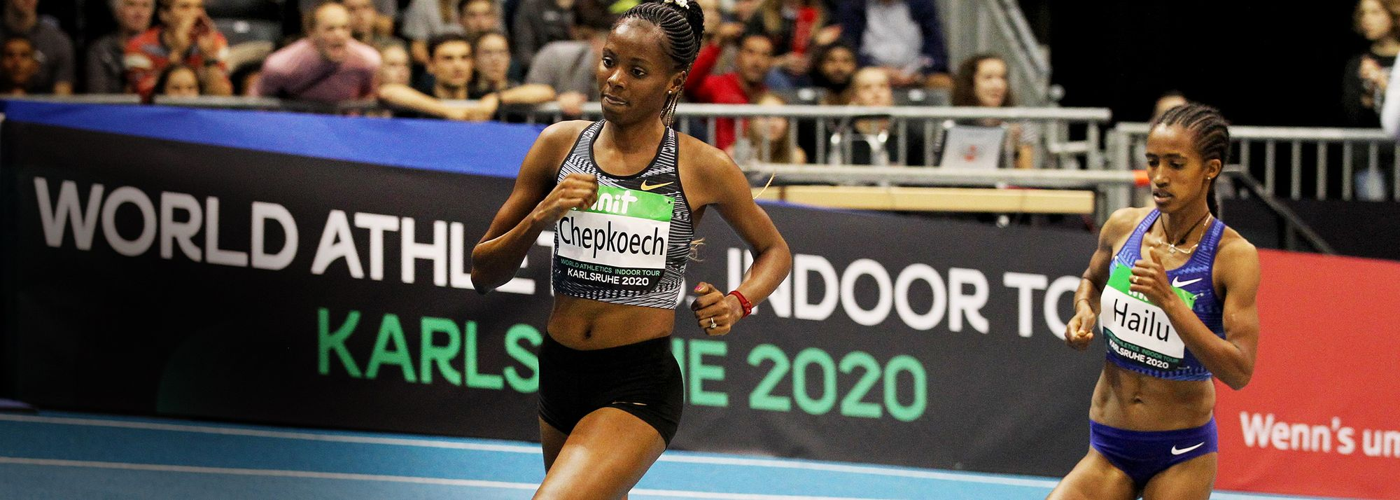 World champions Chepkoech and Asher-Smith set to star at first World Athletics Indoor Tour Gold meeting of 2021