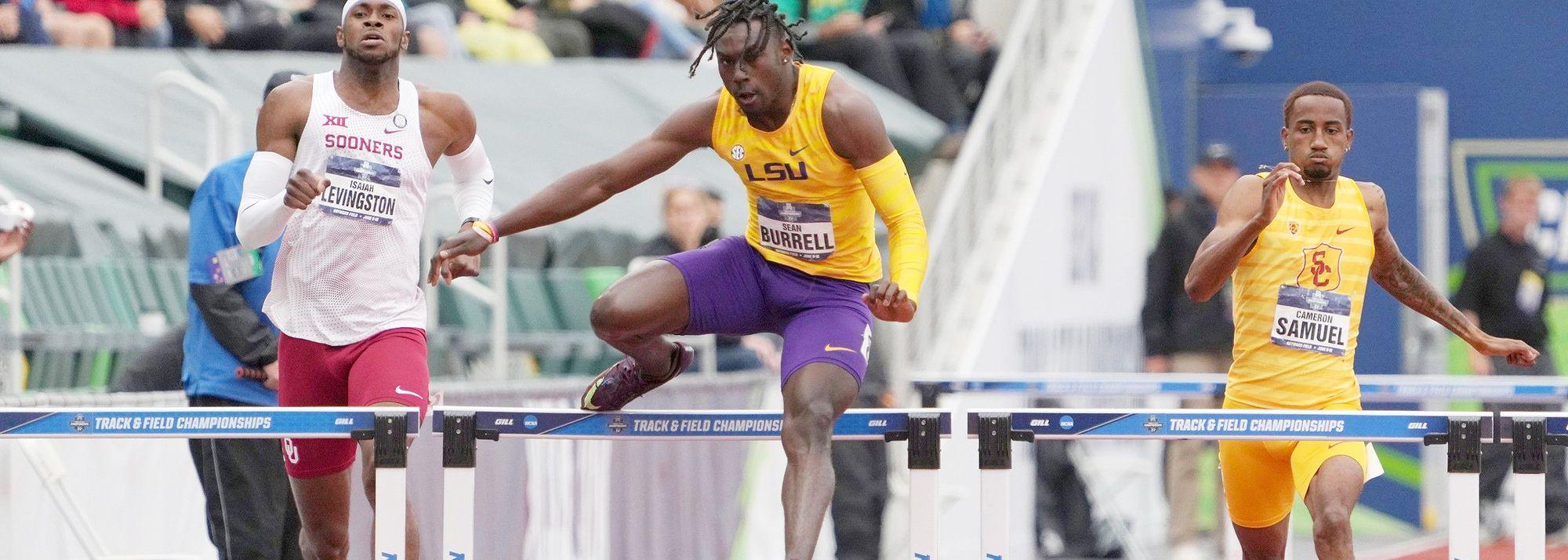 400m hurdles newcomer clocks 47.85 at NCAA Championships
