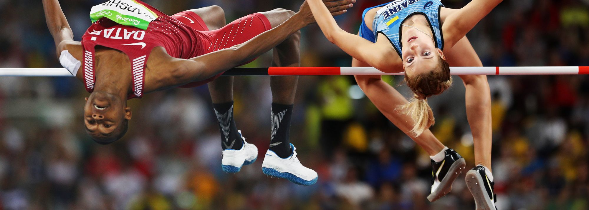 Expected highlights in the men's and women's high jump.