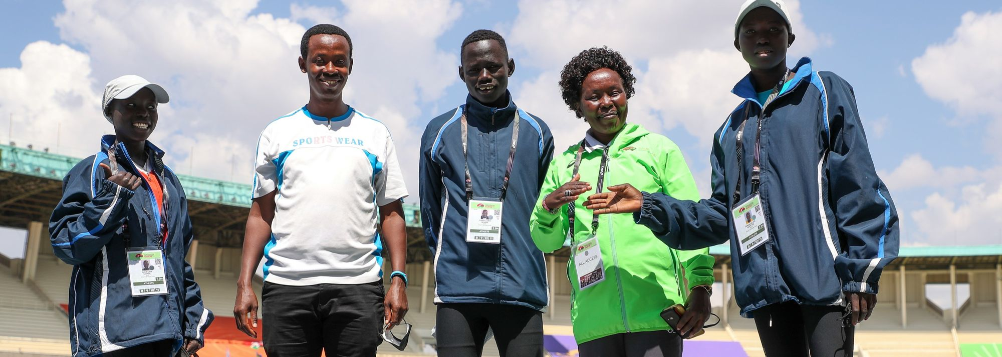 The World U20 Championships dream came true for Joseph Loboi Morris, Emmaculate Napeyok and Alice IIam Samuel.