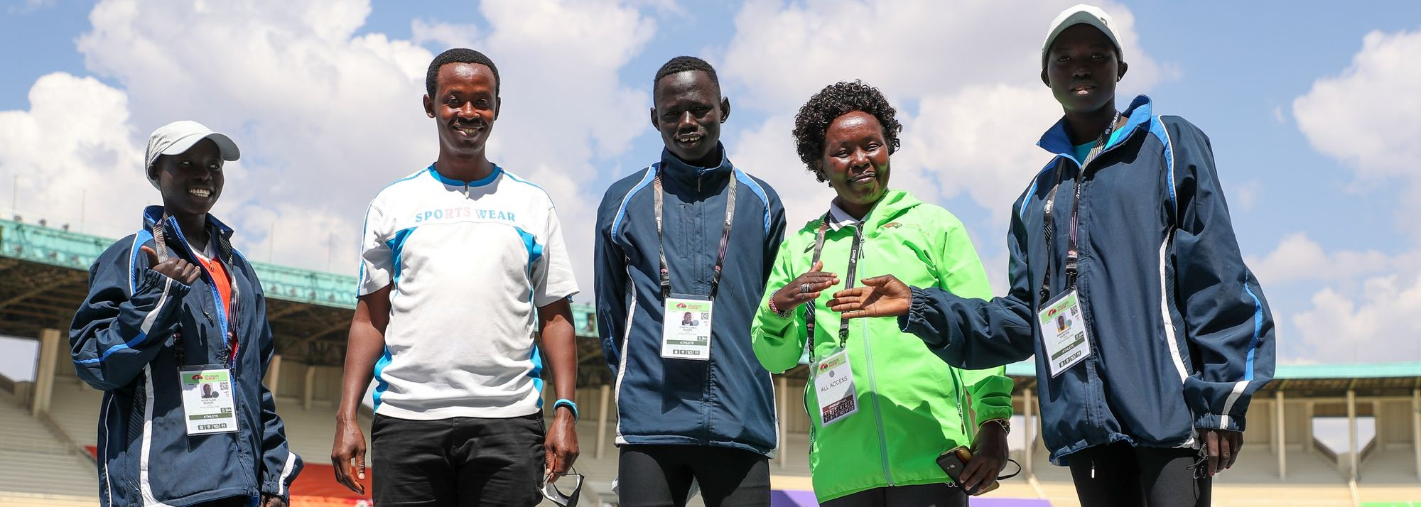 At first, it seemed like mission impossible complicated by the pandemic, confinement and lack of competitions in 2020. But for a trio of refugee athletes, the dream came true.