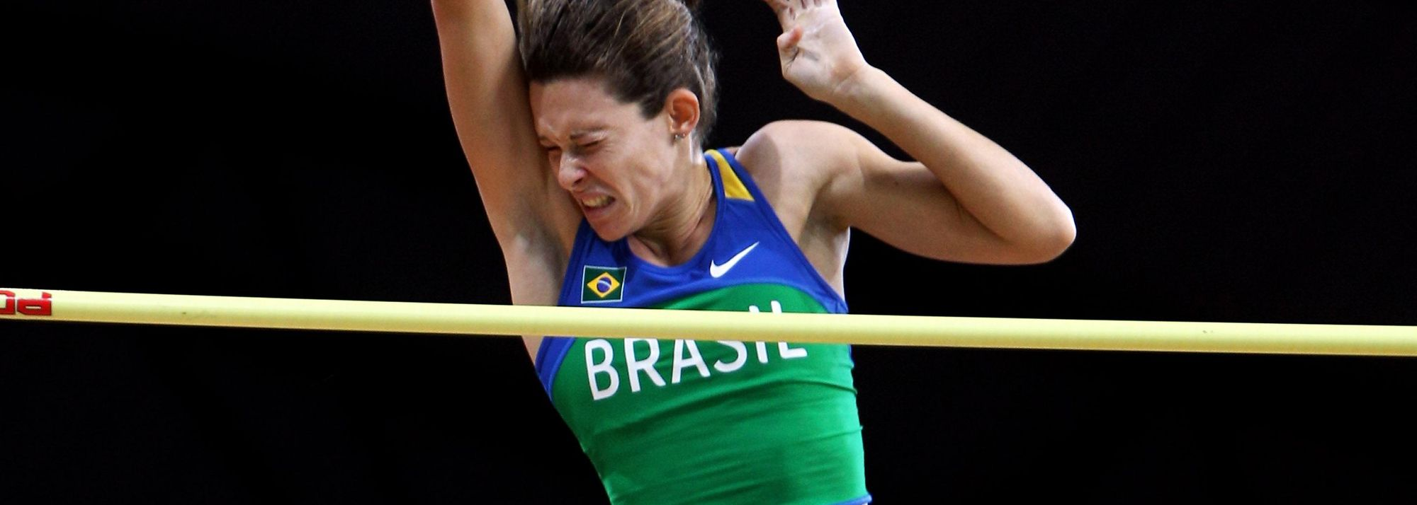 Moving up two big steps from her finish two years ago, Fabiana Murer took an unexpected but certainly deserved victory in the women's Pole Vault.