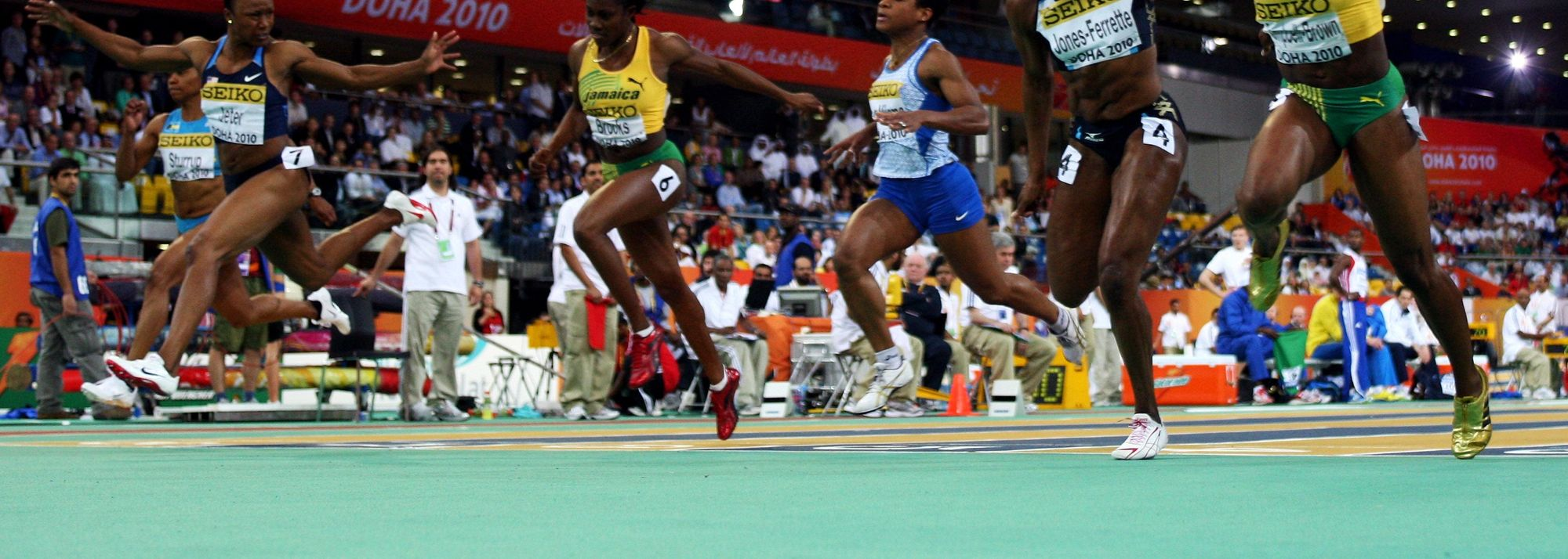 "<P mce_keep=""true"">One thing we have learned from today is never discount Veronica Campbell-Brown.</P>"