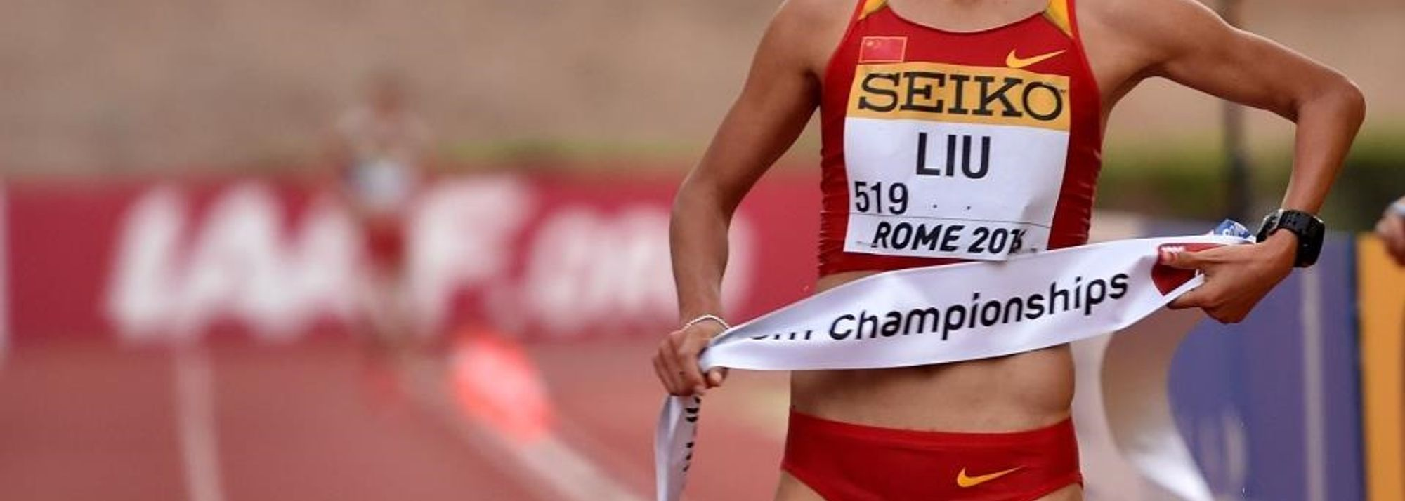 With her 20km victory at the IAAF World Race Walking Team Championships Rome 2016, Liu Hong is one step close to completing the grand slam of major race walking titles.