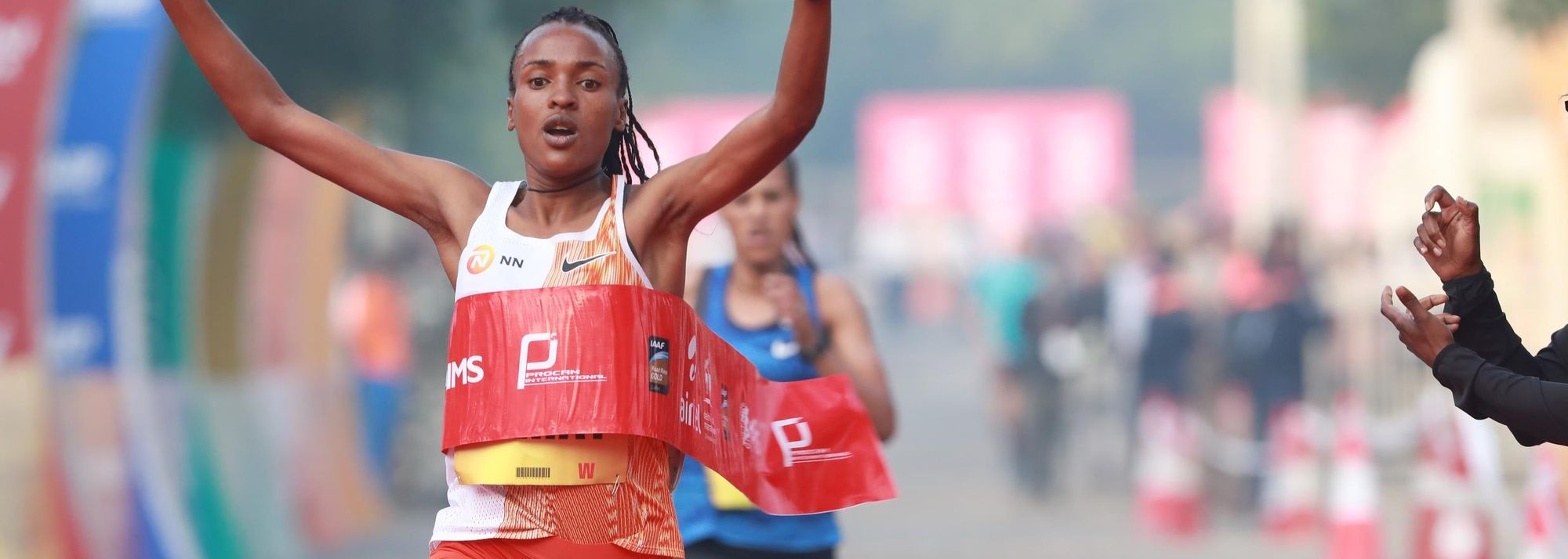 Defending champions Belihu and Gemechu targeting course records at Delhi Half Marathon