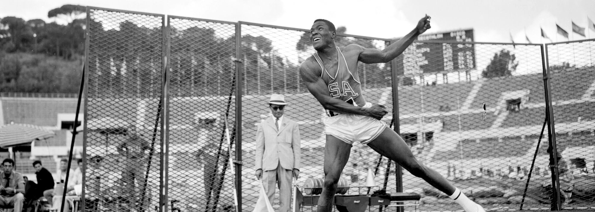 1960 Olympic decathlon champion and former world record-holder Johnson dies
