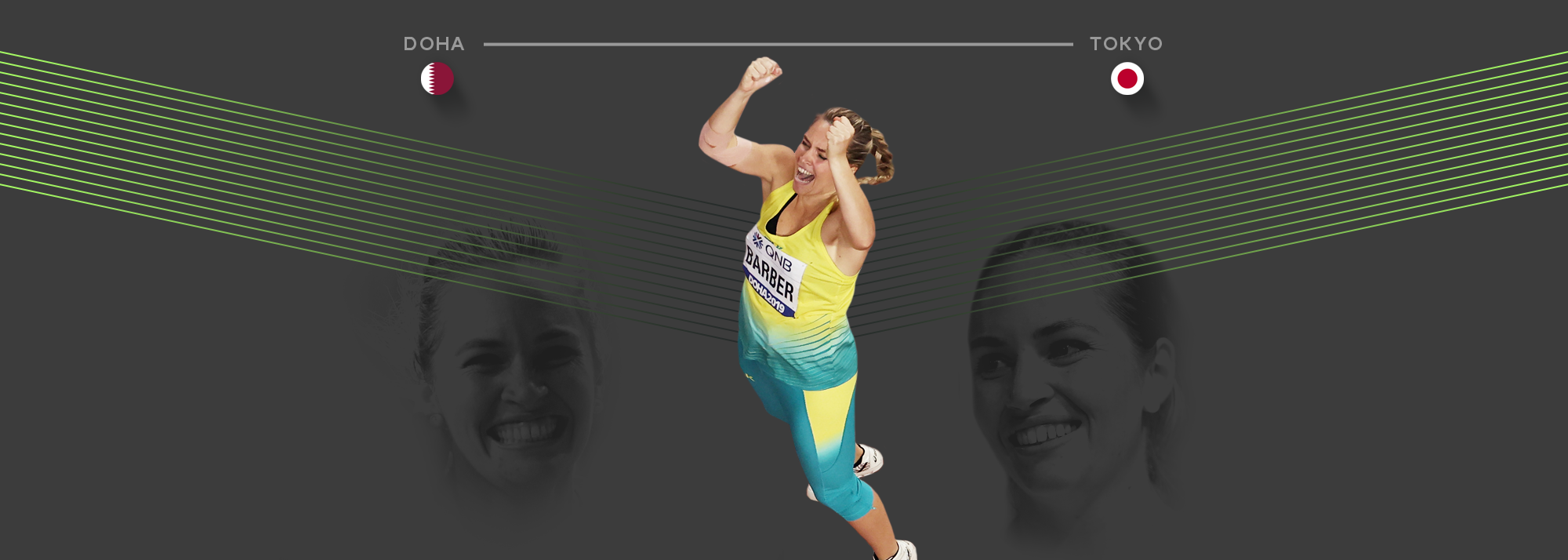 In the latest in our mini-series tracking the journey of athletes from the World Athletics Championships Doha 2019 through to the Tokyo Olympics, we focus on world javelin champion Kelsey-Lee Barber from Australia.
