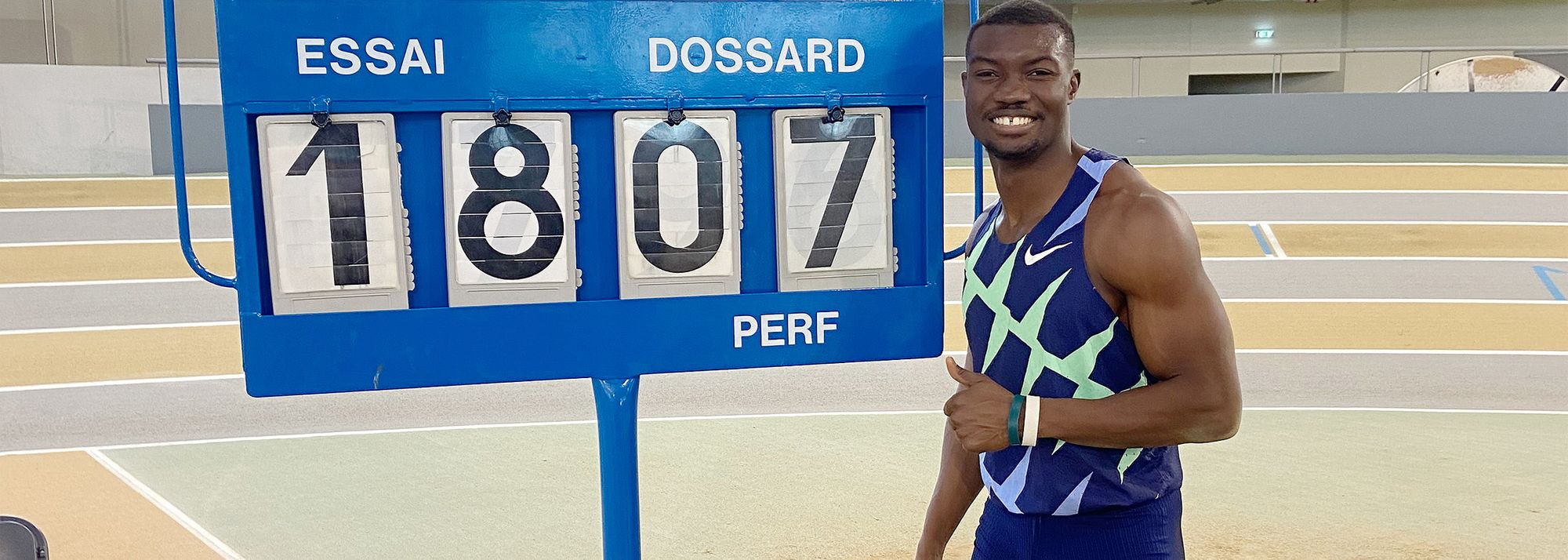 World bronze medallist Hugues Fabrice Zango produced the first standout athletics moment of 2021 by sailing to a world indoor triple jump record of 18.07m* in Aubiere on Saturday (16).