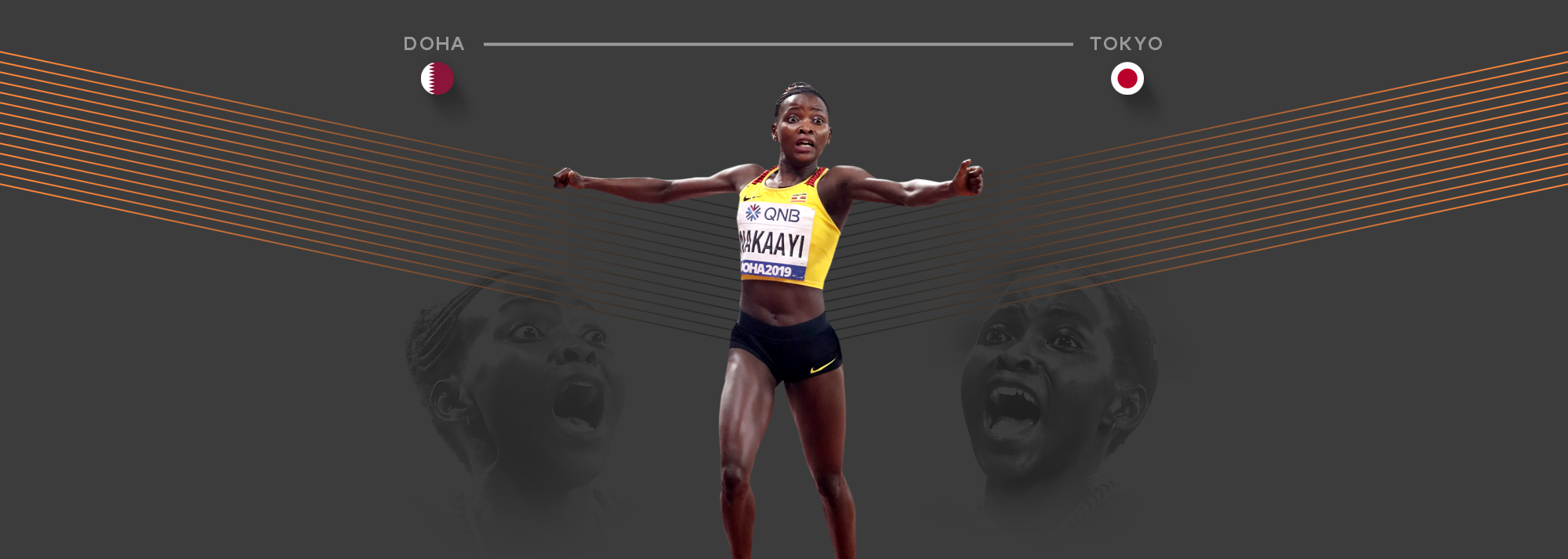 In the latest in our mini-series, we look at world 800m champion Halimah Nakaayi's journey to the Tokyo Olympics.
