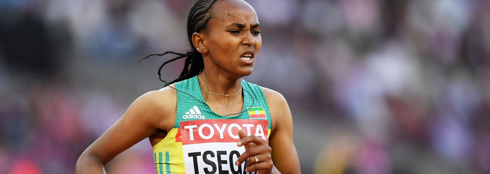 Gudaf Tsegay remembers her early days in the sport when she would look up to two-time Olympic gold medallist Meseret Defar as a role model.