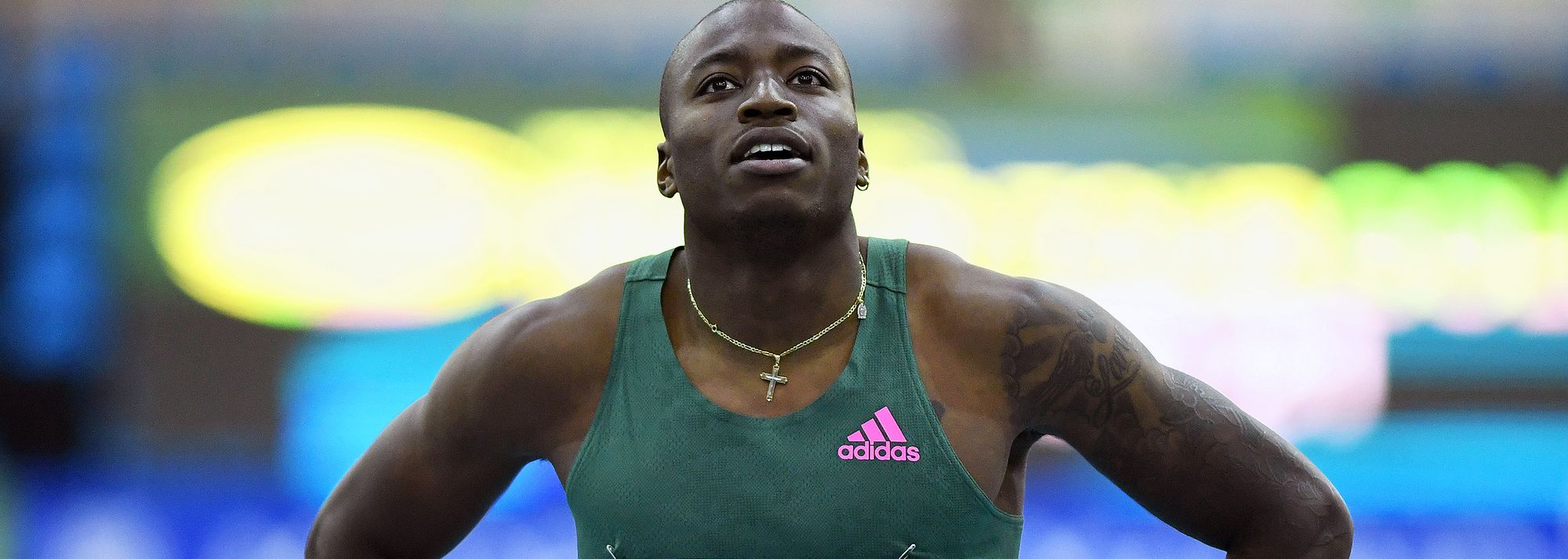 After breaking the world indoor 60m hurdles record, Grant Holloway looks to the future