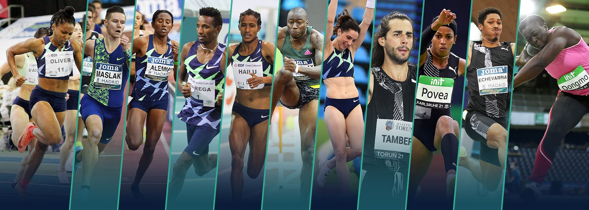 After the fifth and final Gold level meeting of the 2021 World Athletics Indoor Tour brought the series to a close for another year, 11 athletes have booked their place at the World Athletics Indoor Championships Belgrade 22.
