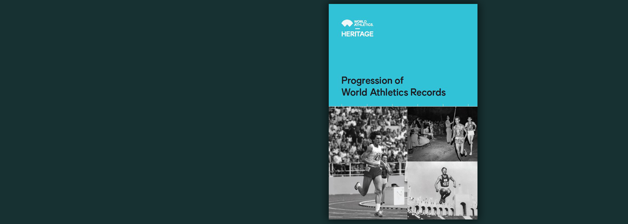 The latest edition of the 'Progression of World Athletics Records', published in 2020 by World Athletics Heritage, is now available as an ebook.