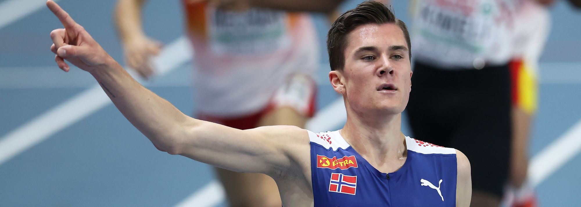 Four world leads among the highlight on the final final day of the 2021 European Indoor Championships in Torun.