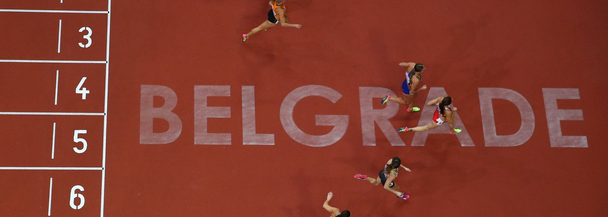 The world's greatest athletes will meet in Belgrade in March 2022.