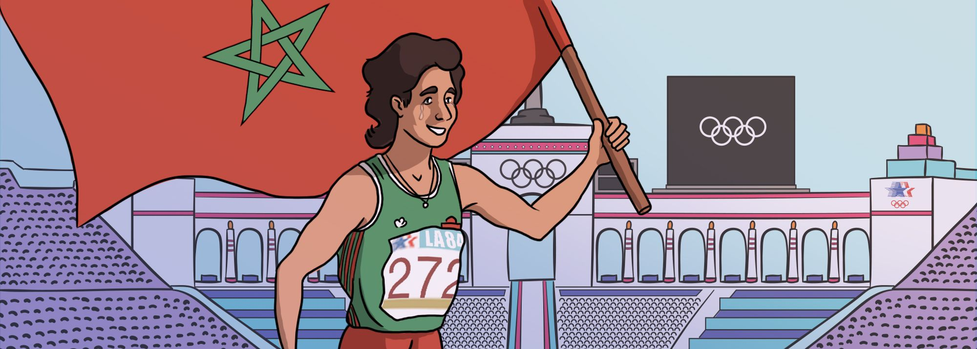 The incredible story of Nawal El Moutawakel, who inspired a generation of Arab female athletes.