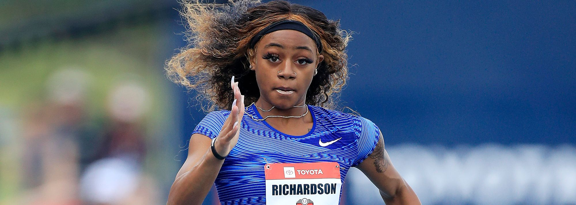 Just one week after clocking 10.72 for 100m, Sha'Carri Richardson continued her fine form to run 22.11 (1.0m/s) in her 200m season debut at the Tom Jones Memorial Invitational in Gainesville, Florida, on Friday (16).