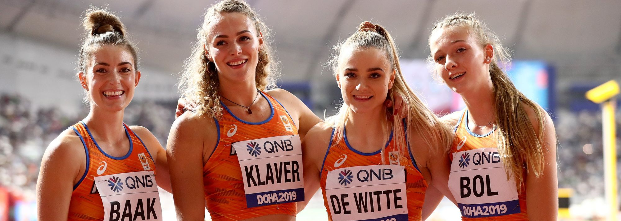 To best describe the close friendship between training partners and occasional on track rivals Lieke Klaver and Femke Bol, perhaps the Dutch word of 'gunnen' (not begrudge) might be most apt.