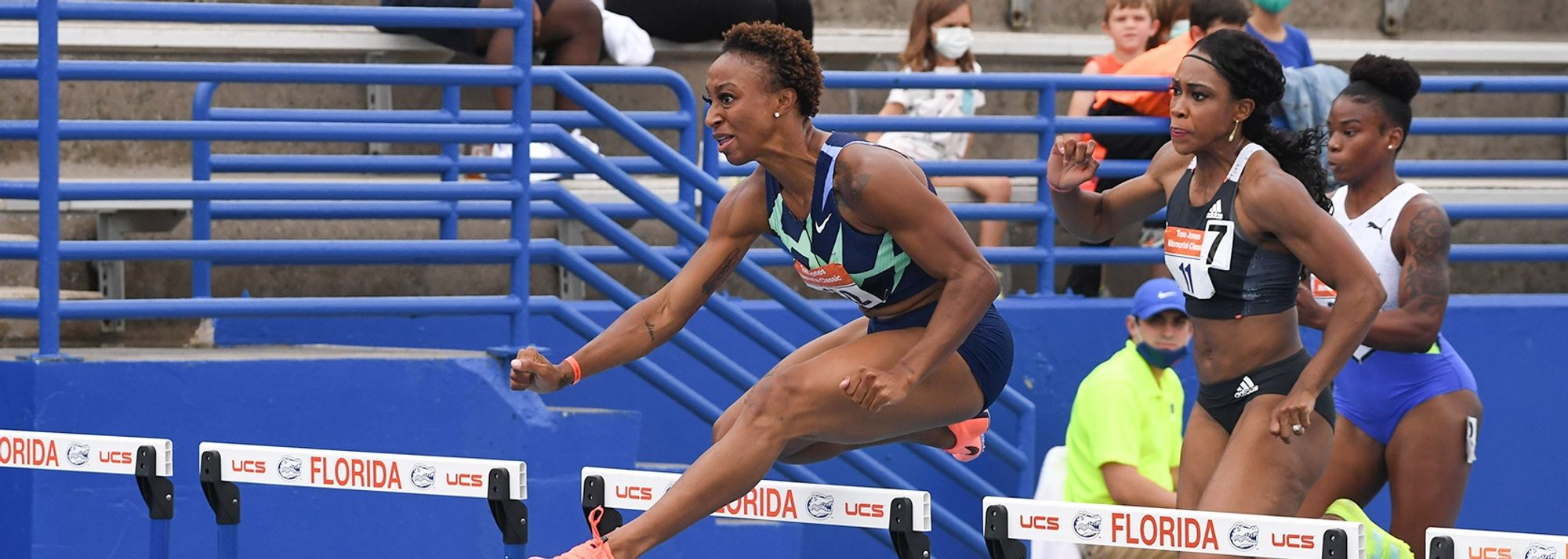 Puerto Rican hurdler now moves to equal seventh on world all-time list