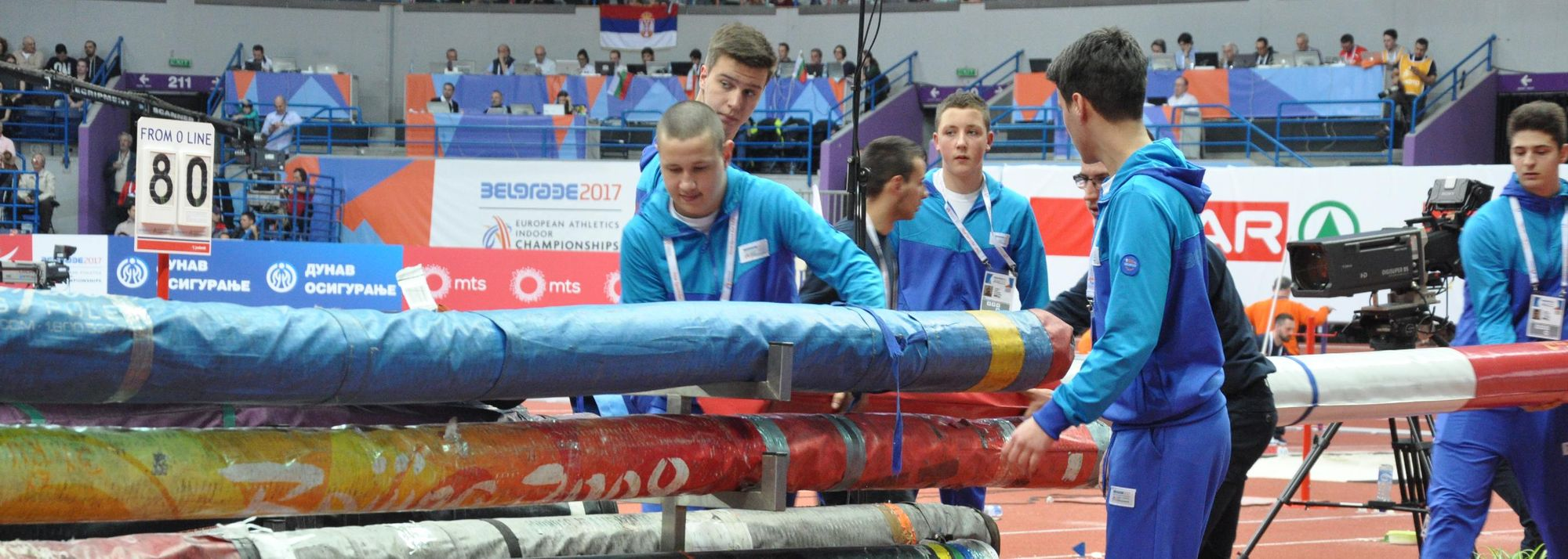 Become part of the World Athletics Indoor Championships Belgrade22 family.