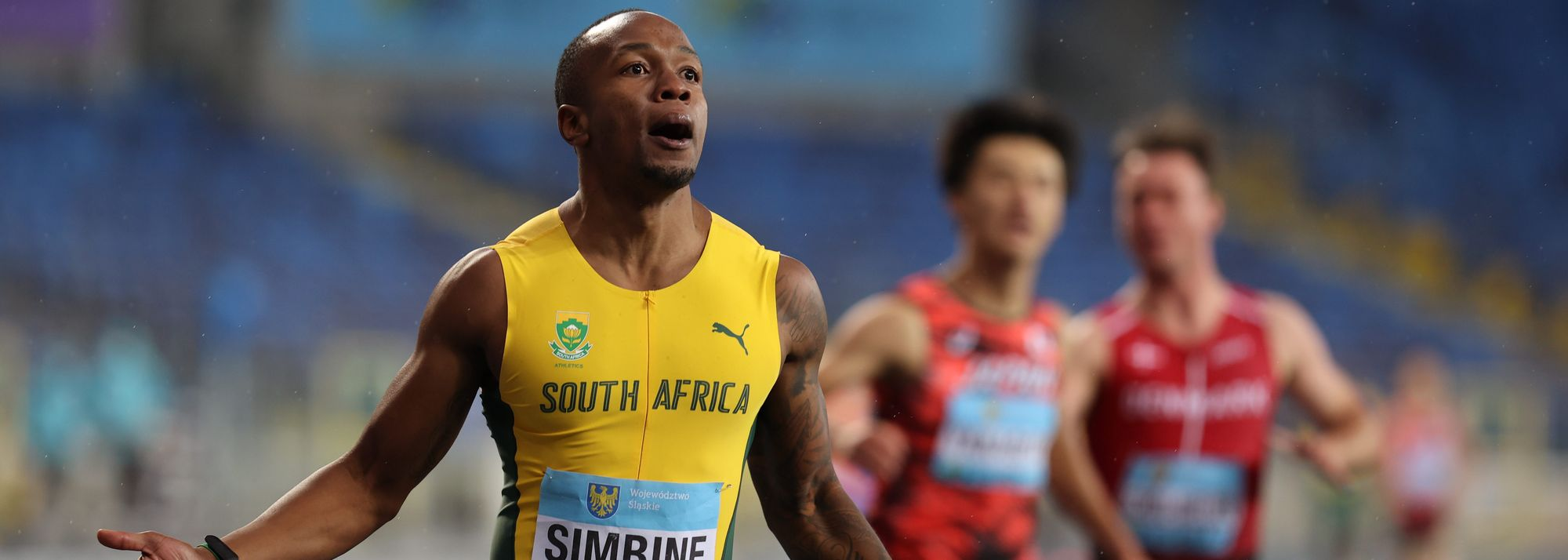 """Here's the thing about Olympic year, something Akani Simbine knows will always be true. """"Everybody comes out fast,"""" he says. Everyone is ready."""""""