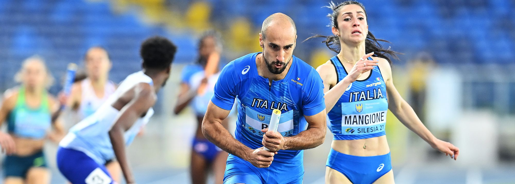 It wouldn't be the relays without a few thrills and spills and action on the second day of the World Athletics Relays Silesia 21 didn't disappoint, with wins for Italy, Cuba, South Africa, hosts Poland, Germany and the Netherlands on Sunday (2).