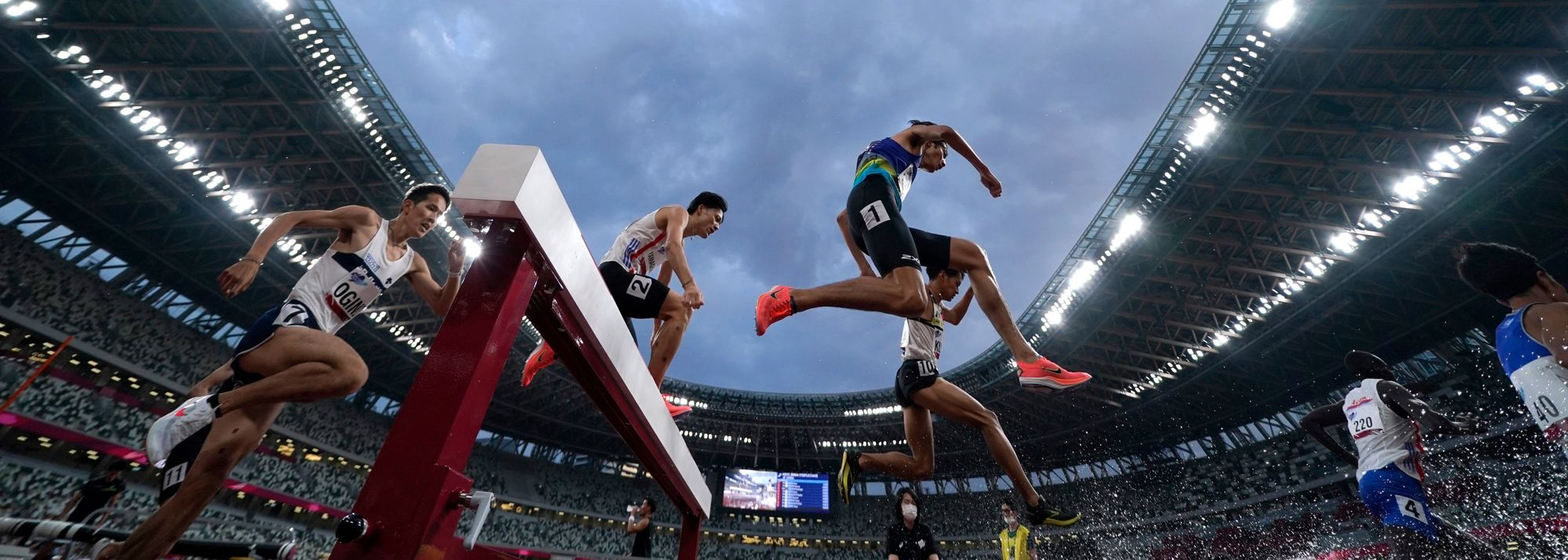 Competing in the stadium which will host Olympic athletics action this summer, Kazuki Kurokawa and Ryuji Miura were among the athletes to rise to the occasion at the Ready Steady Tokyo meeting.