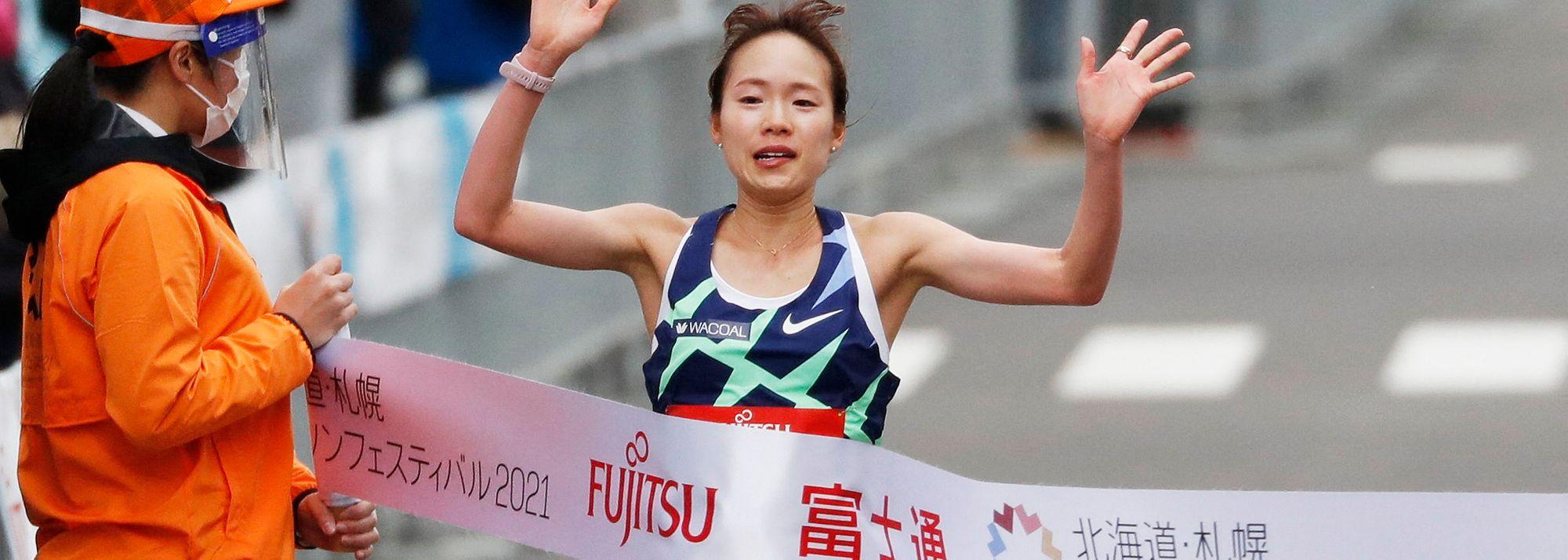 Japan's Mao Ichiyama clocks 1:08:28, Kenya's Hillary Kipkoech runs 1:00:46