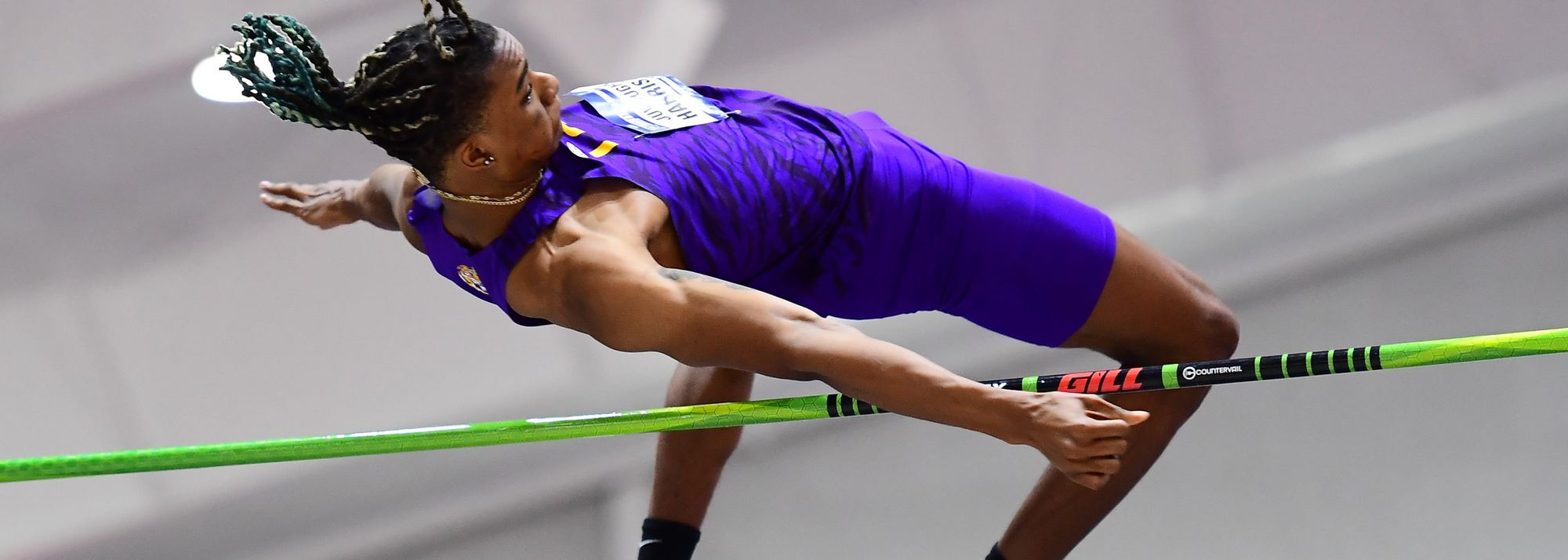 When JuVaughn Harrison leaped 8.45m at the NCCA Indoor Championships, few would have understood the significance of the achievement.