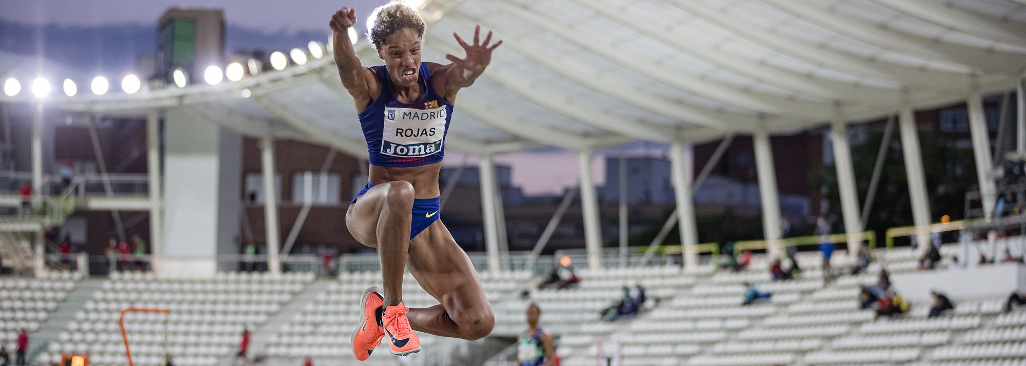 The triple jump provided the main highlights of the Meeting Madrid, a World Athletics Continental Tour Silver meeting, in the Spanish capital on Saturday (19).