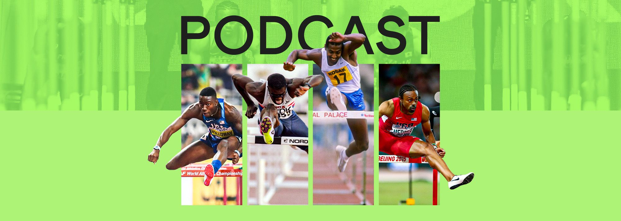 Renaldo Nehemiah, Allen Johnson, Aries Merritt and Grant Holloway recently came together virtually for a special 110m hurdles edition of the World Athletics podcast.