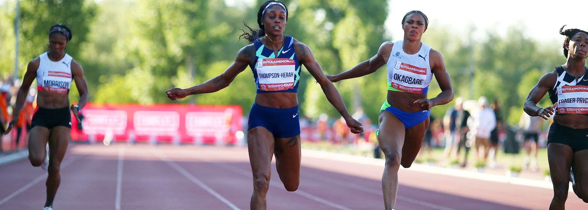 Thompson-Herah clocks 10.71, Bol wins 400m hurdles in 52.81 and Simbine breaks African 100m record with 9.84