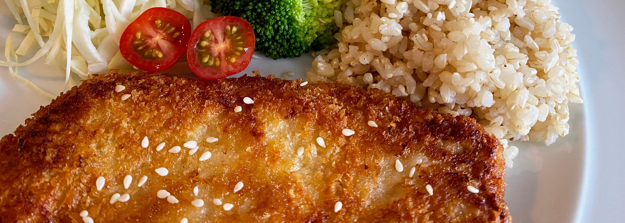 Katsu is a popular Japanese dish. The verb 'katsu' also means 'to win'