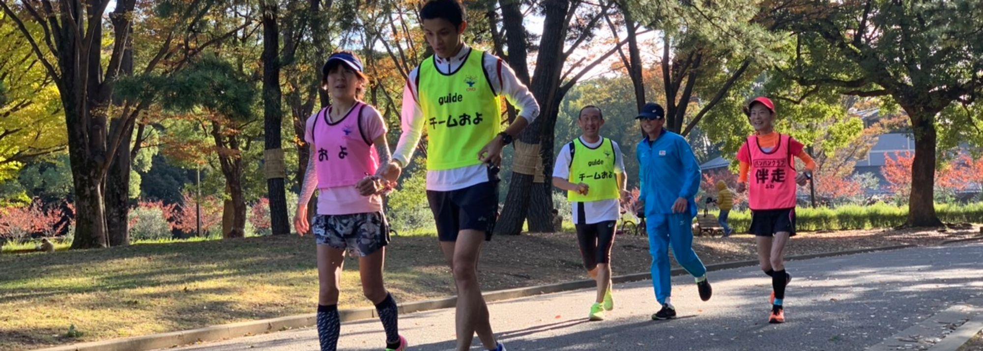 For Yoko Aoki, one of Japan's top runners with a visual impairment, running is not quite so simple