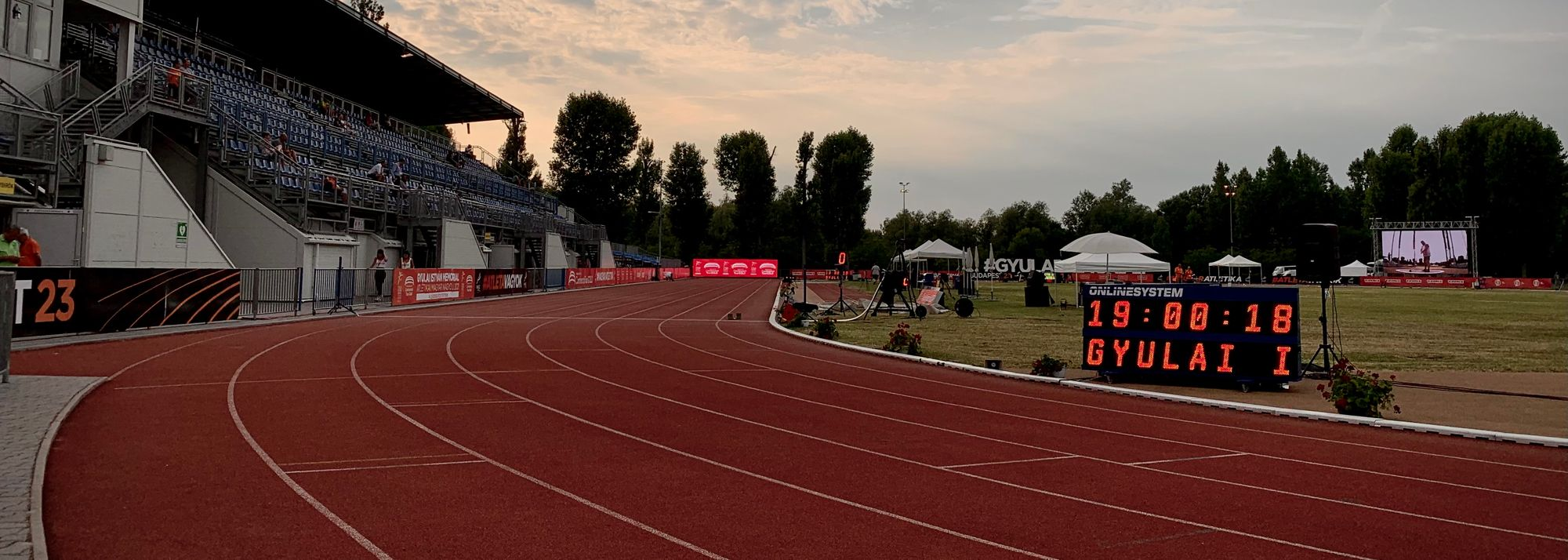 The 2021 World Athletics Continental Tour Gold series continues on Monday and Tuesday (5-6) with the Istvan Gyulai Memorial in Szekesfehervar, Hungary.