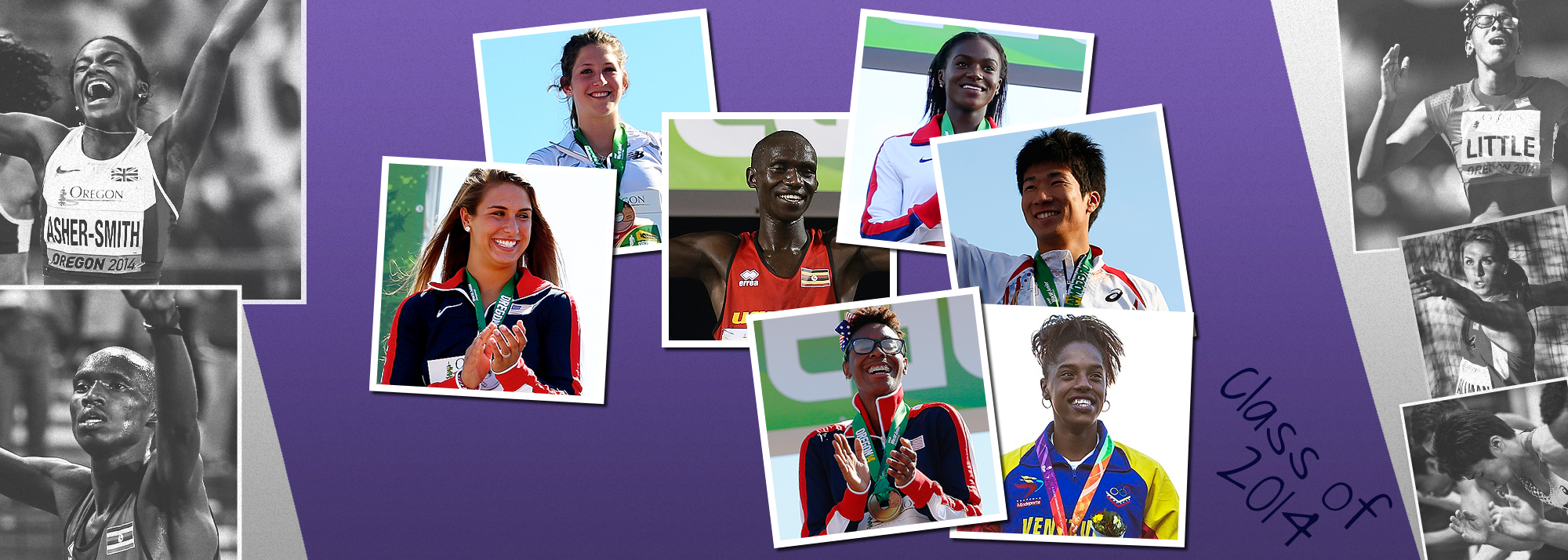 How the teenage talents from the 2014 World U20 Championships are faring with one year to go to the World Athletics Championships Oregon22