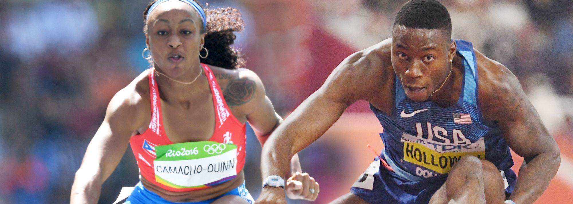 Expected highlights in the women's and men's sprint hurdles.