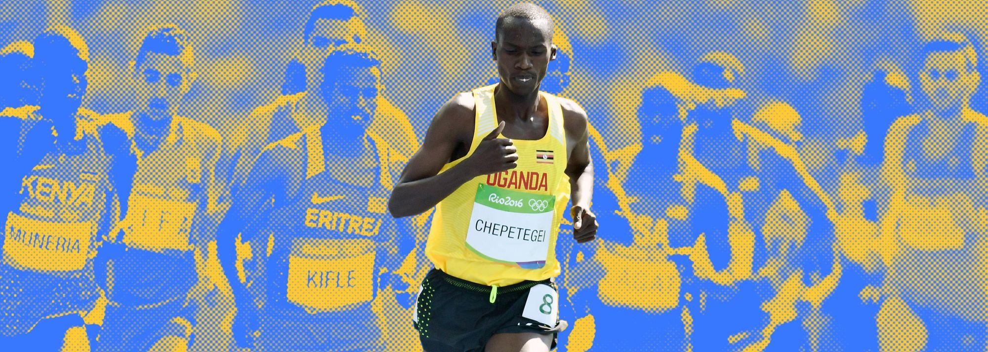 The world 10,000m champion explains why he runs