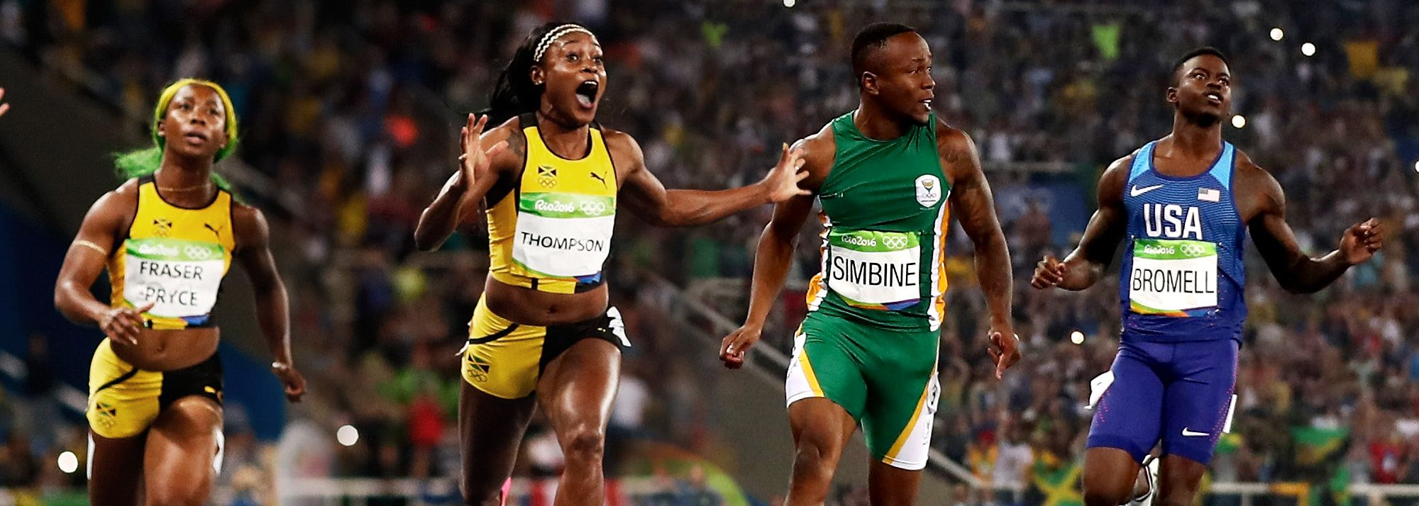 Expected highlights in the 100m