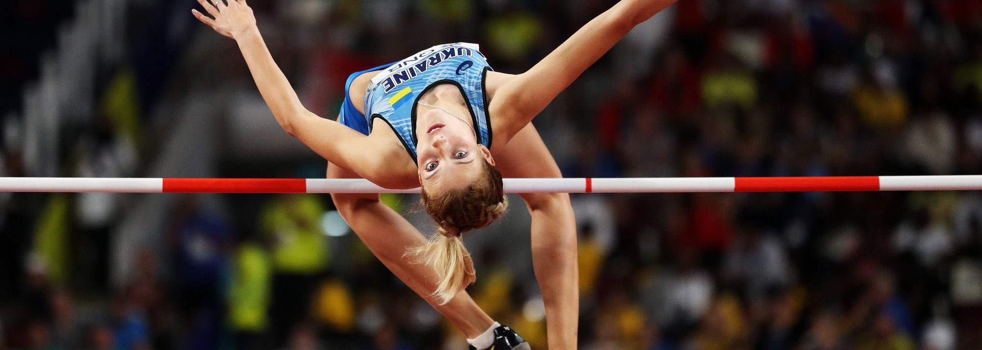 """""""I want to jump the world record,"""" says Yaroslava Mahuchikh as she prepares to make her Olympic debut in Tokyo."""