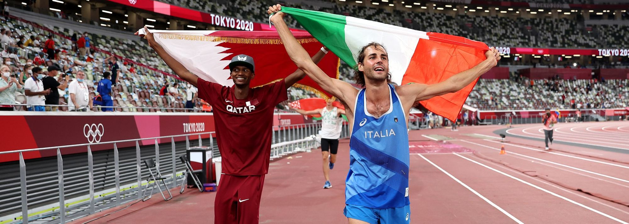 The finest high jump duel in Olympic history ended with Mutaz Barshim and Gianmarco Tamberi both getting gold.