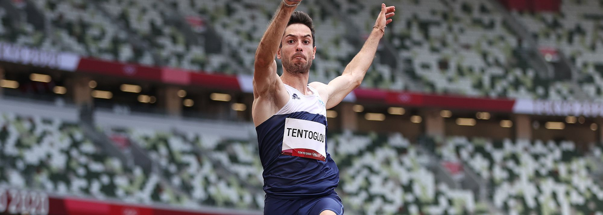 Miltiadis Tentoglou of Greece saved his best for last