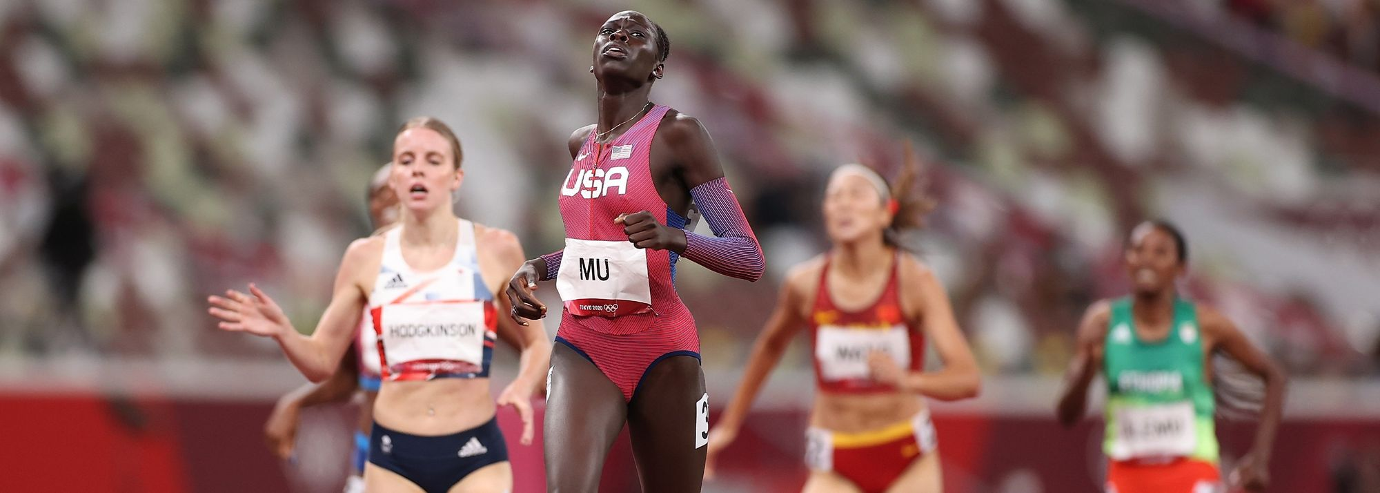 For 19-year-old US sensation Athing Mu, winning the Olympic gold medal in the women's 800m was just what she expected of herself all along.
