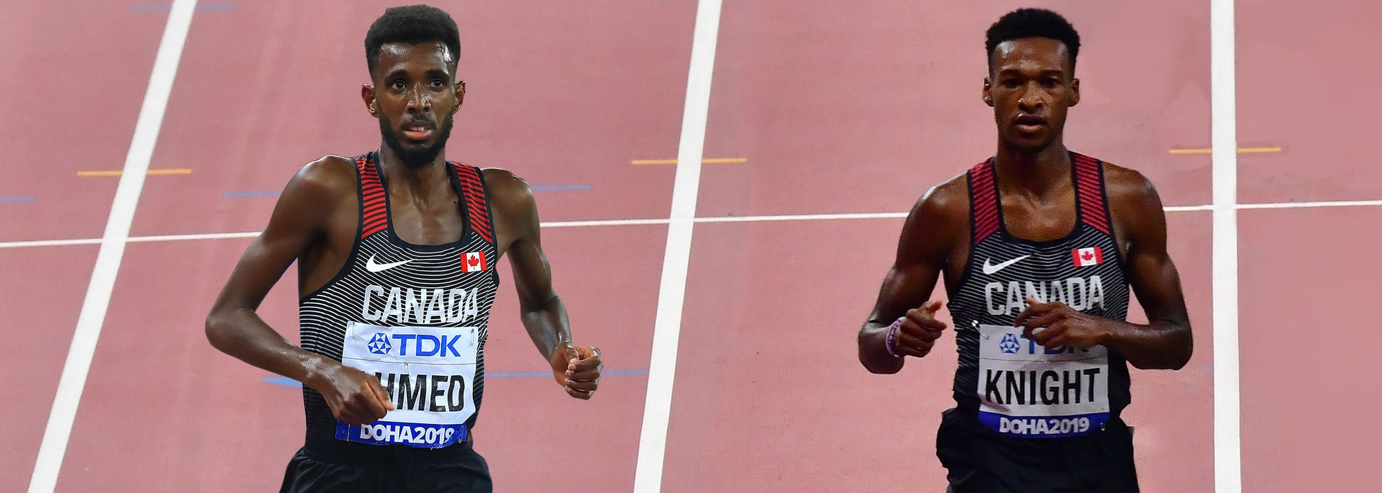 Moh Ahmed and Justyn Knight will be looking to pack a 1-2 punch at the Olympic Games in Tokyo.