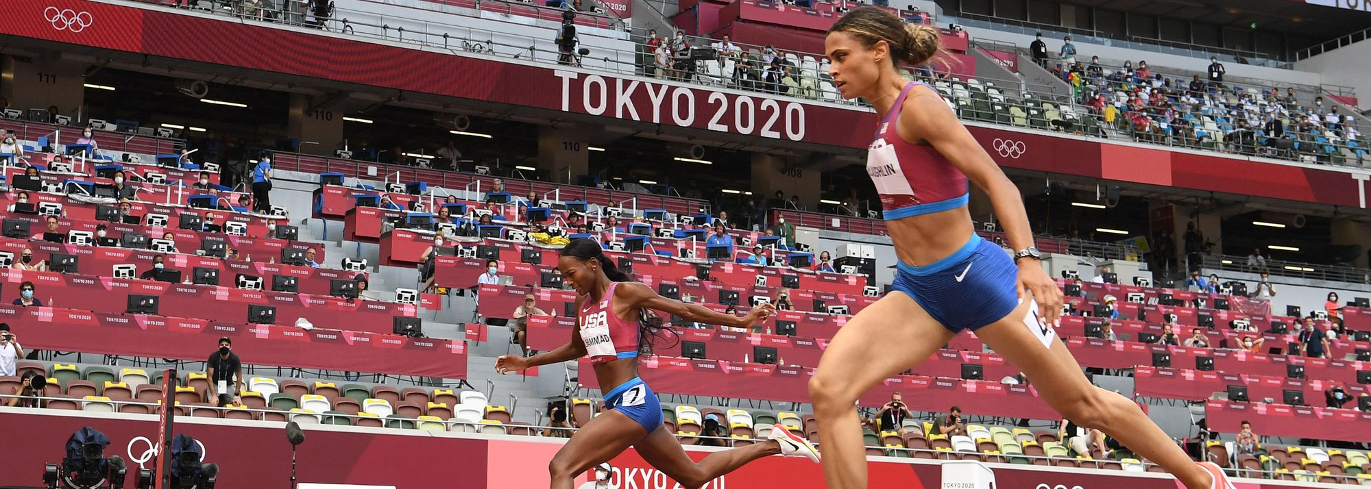Just 24 hours after a historic race in the men's 400m hurdles, the women's final resulted in a similarly mind-boggling outcome