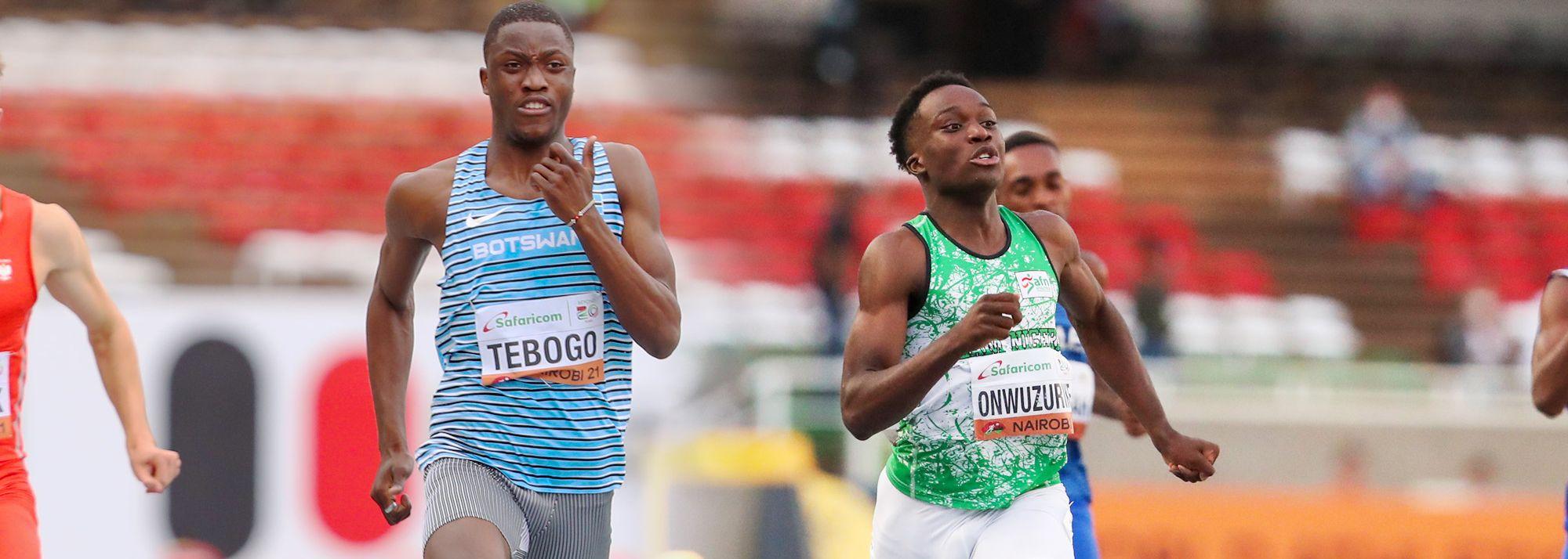 Young African sprint stars emerge at World U20 Championships Nairobi 21